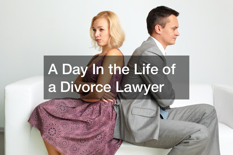 what is a divorce trial like